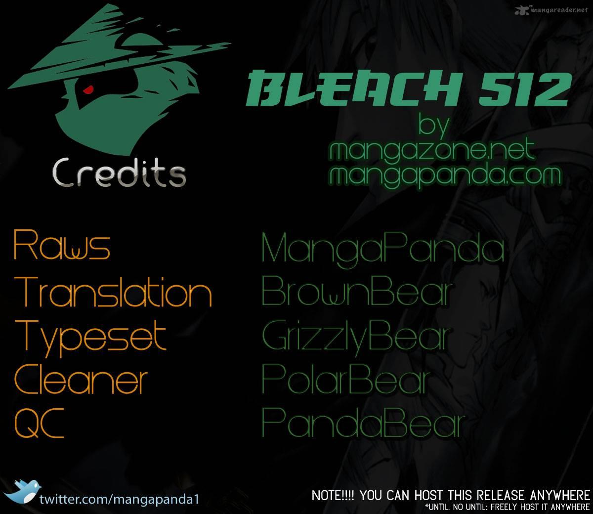 Bleach 512: Everything but the rain