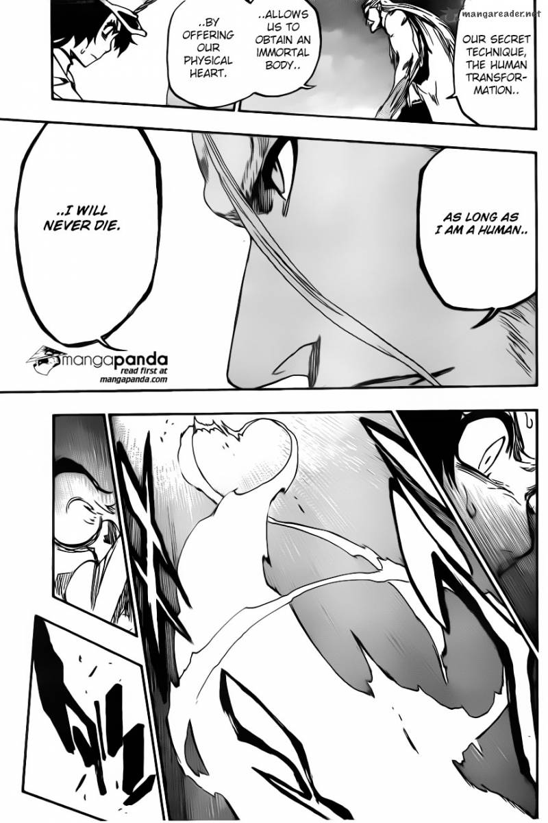Bleach 557 - His Life Has Already Been Set Aside