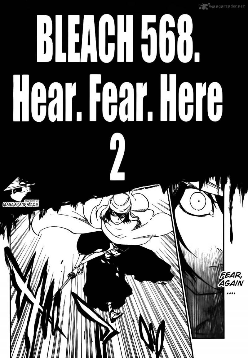 Bleach 568: Hear. Fear. Here 002