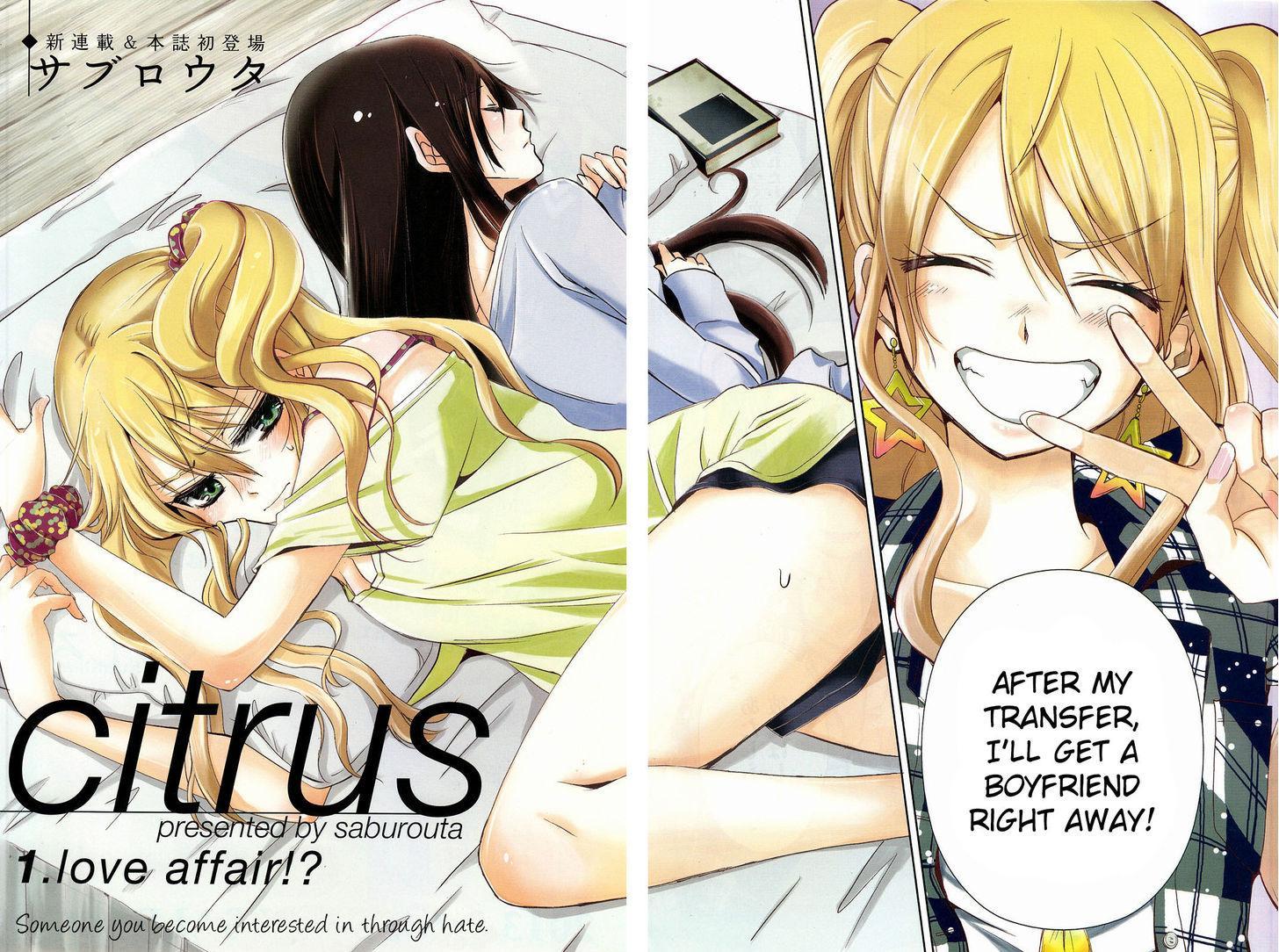 Citrus (SABURO Uta) - Chapter 1