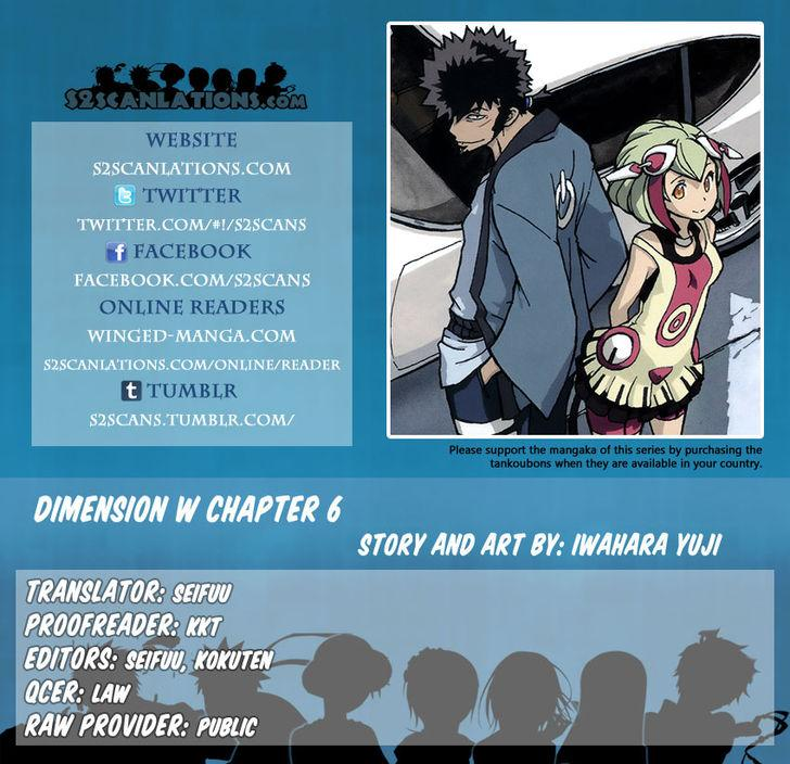 Dimension W - Chapter 6
