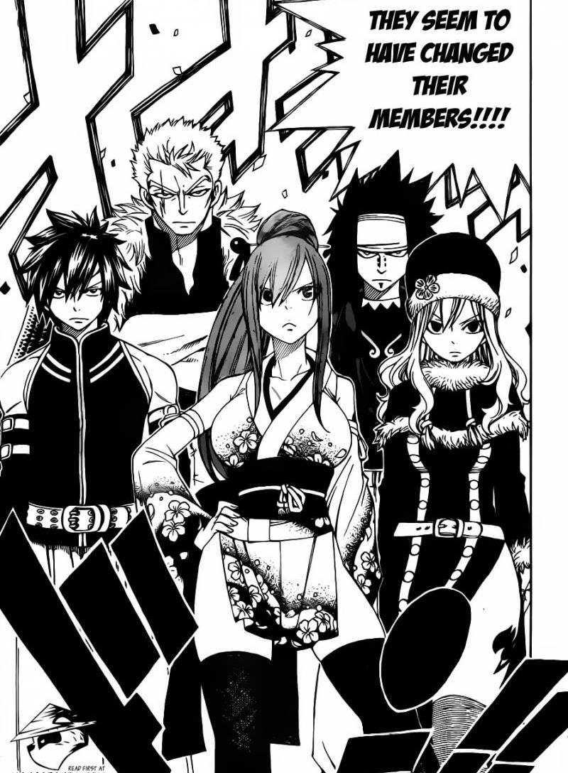 Fairy Tail 303 Battle on Two Fronts