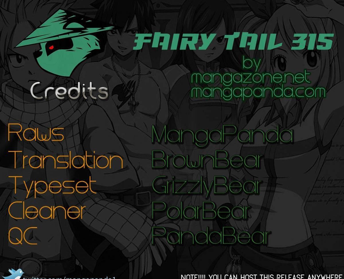 Fairy Tail 315 Rosemary