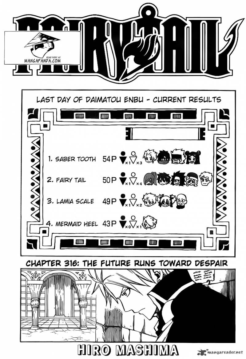 Fairy Tail - Chapter 316