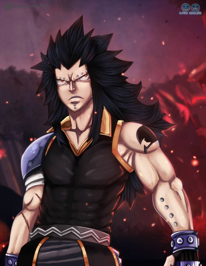 Fairy Tail 318: Gajeel vs Rogue