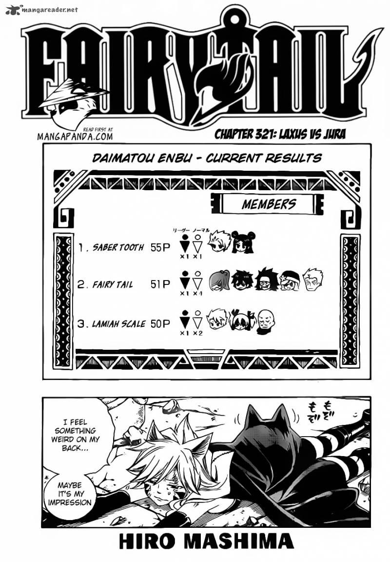 Fairy Tail 321: Laxus Vs Jura