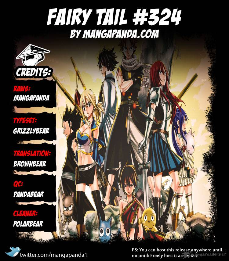 Fairy Tail 324: The one who closes the door