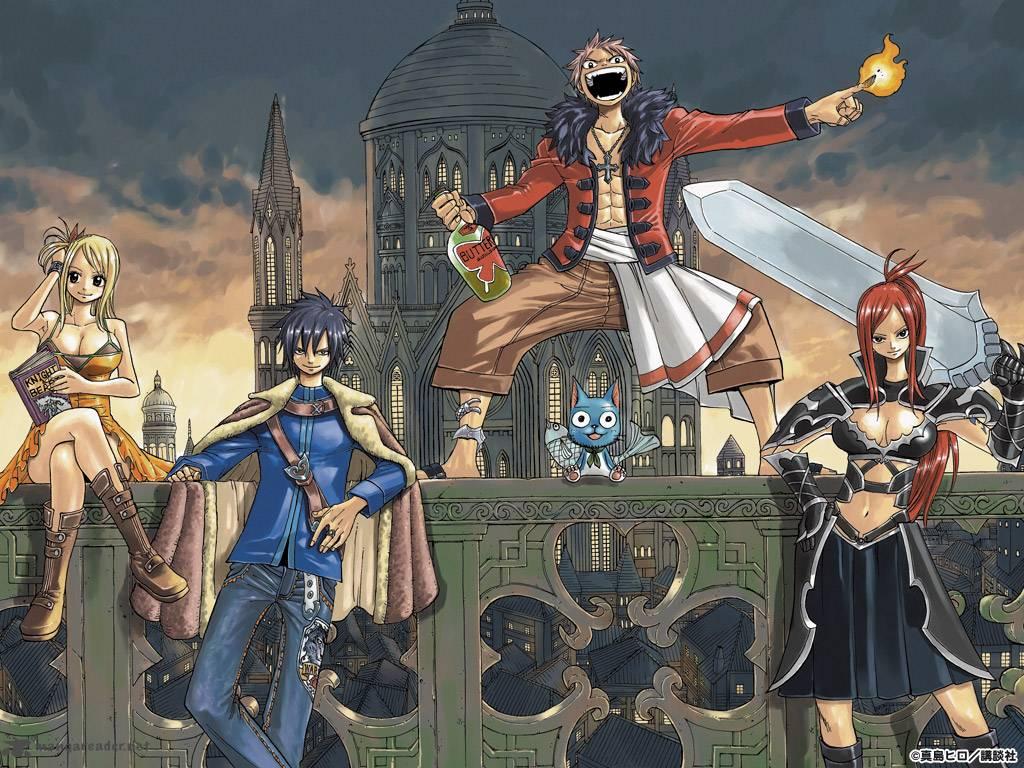 Fairy Tail 325: Union!!!!