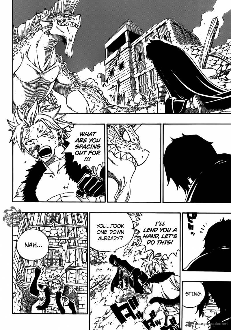 Fairy Tail 334 Sin and Sacrifice