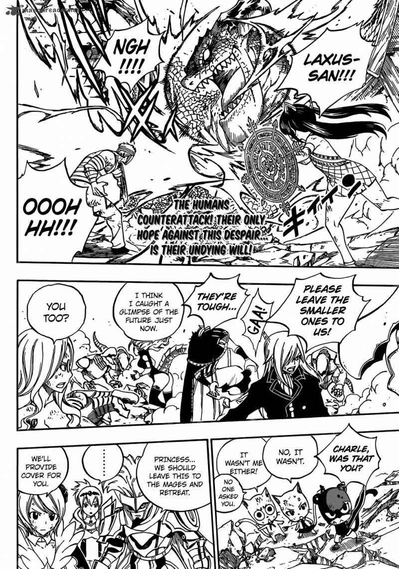 Fairy Tail 336 In Order To Live Today To The Fulle