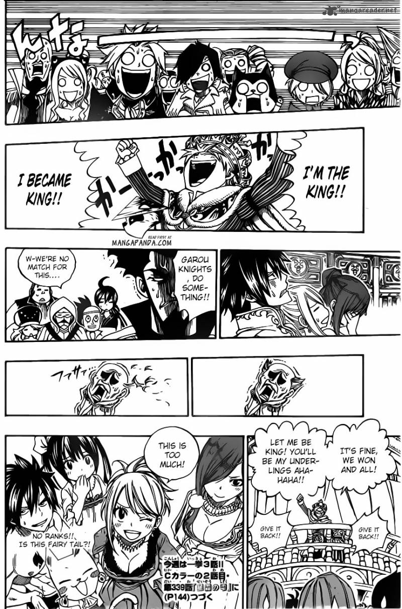 Fairy Tail 338: The Great Banquet