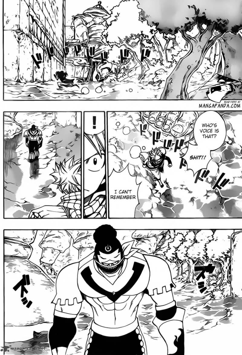 Fairy Tail 345 Someone's voice