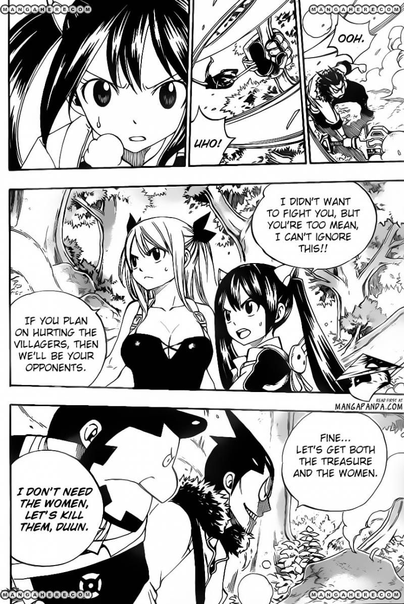 Fairy Tail 346: The law of regression