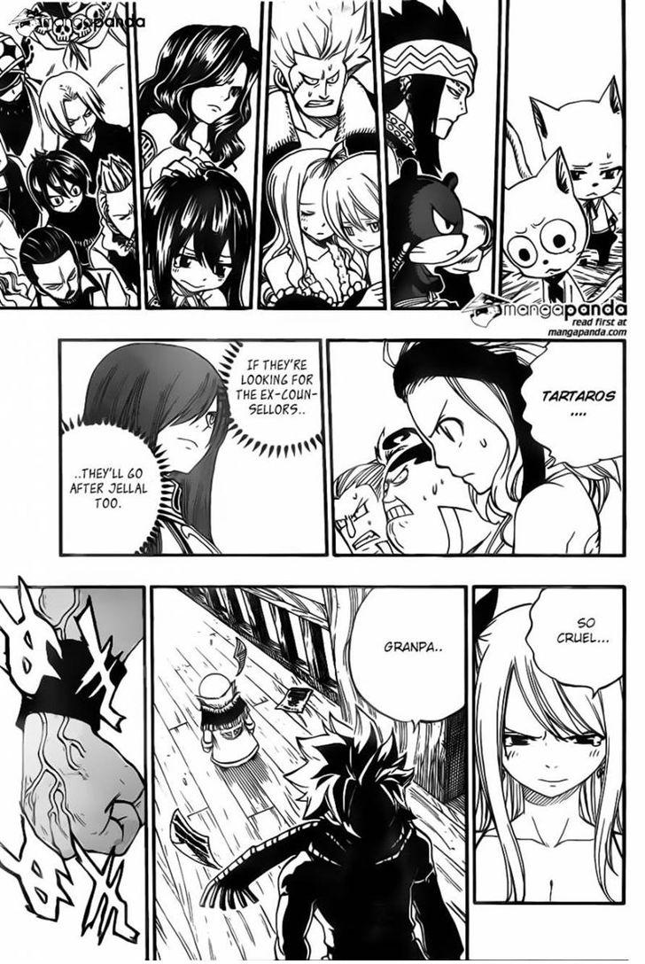 Fairy Tail 358: Magical Barrier Particles