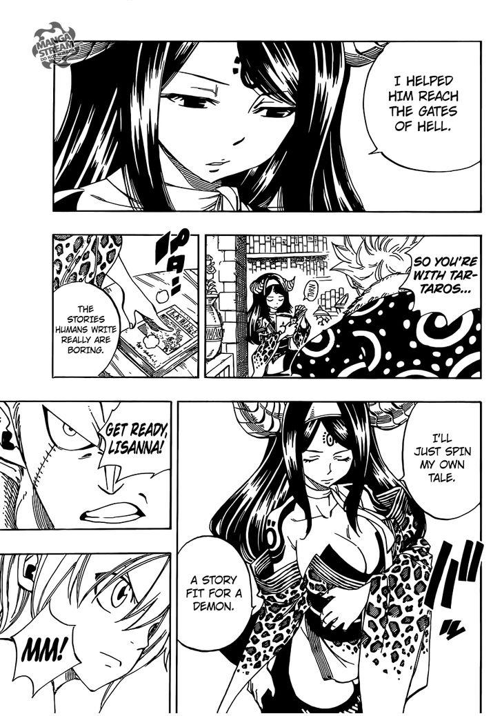 Fairy Tail 363: The Stories Demons Read