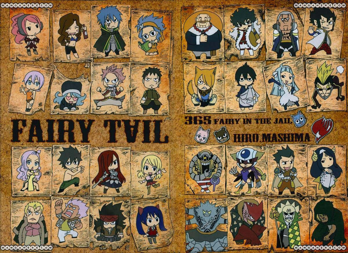 Fairy Tail 365: Fairy in the Jail