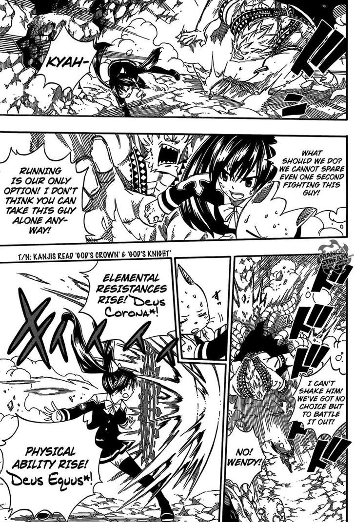 Fairy Tail 376: Wendy .vs Ezel