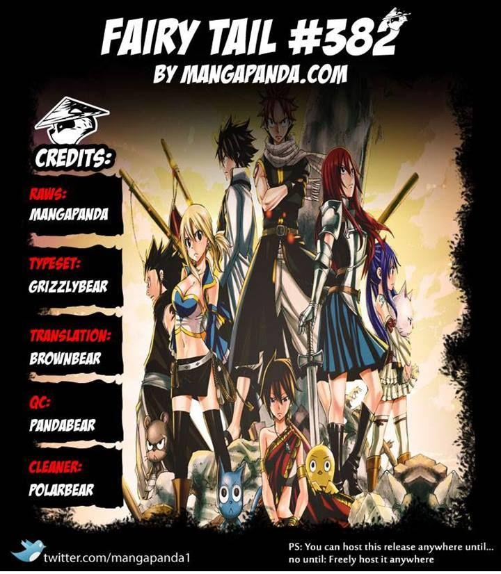 Fairy Tail 382: Alegria