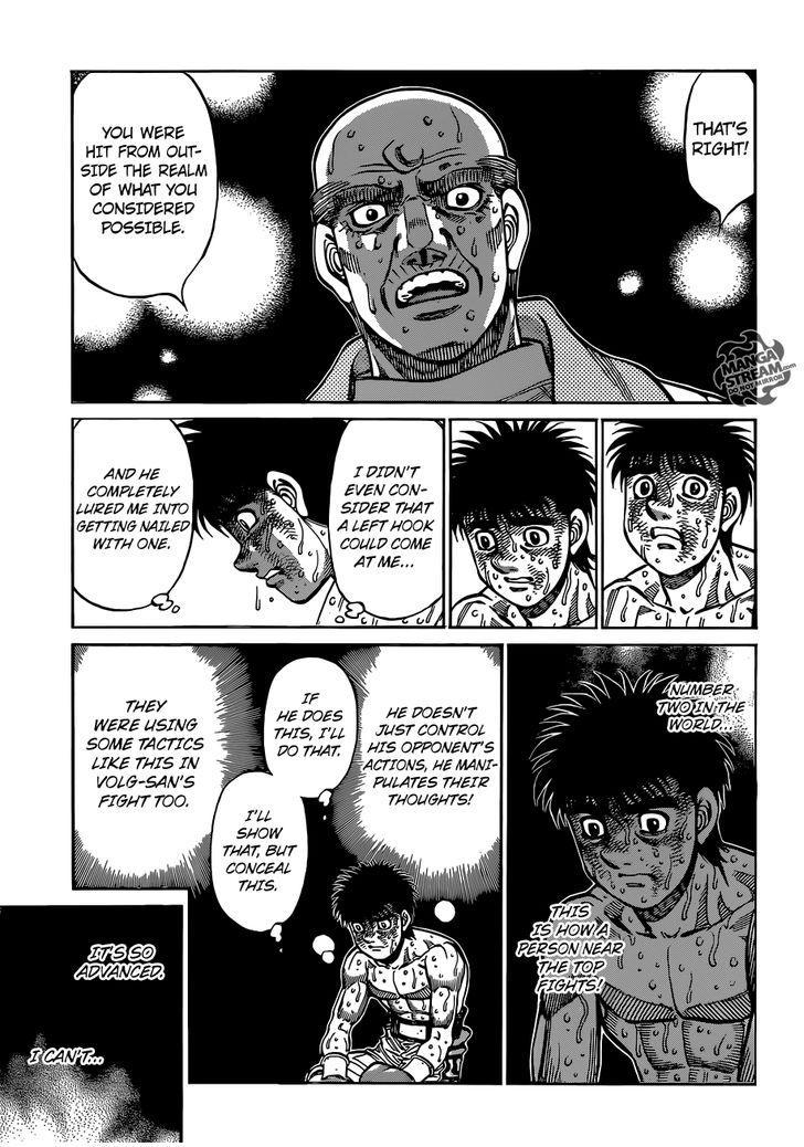 Hajime no Ippo - Chapter 1050