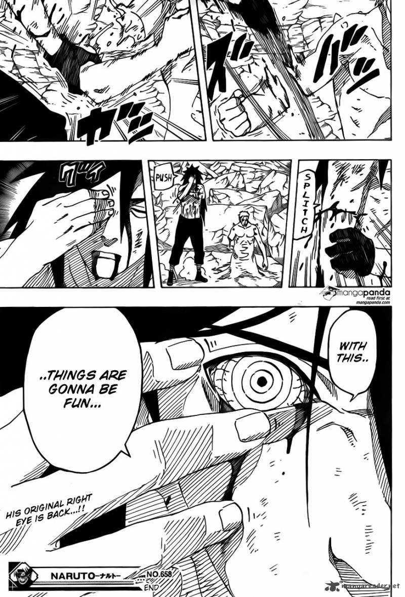 Naruto - Chapter 658