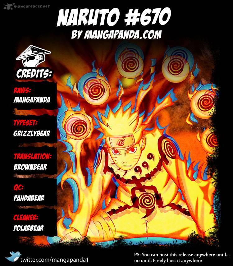 Naruto - Chapter 670