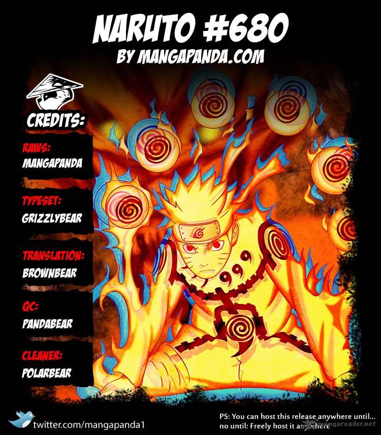 Naruto - Chapter 680