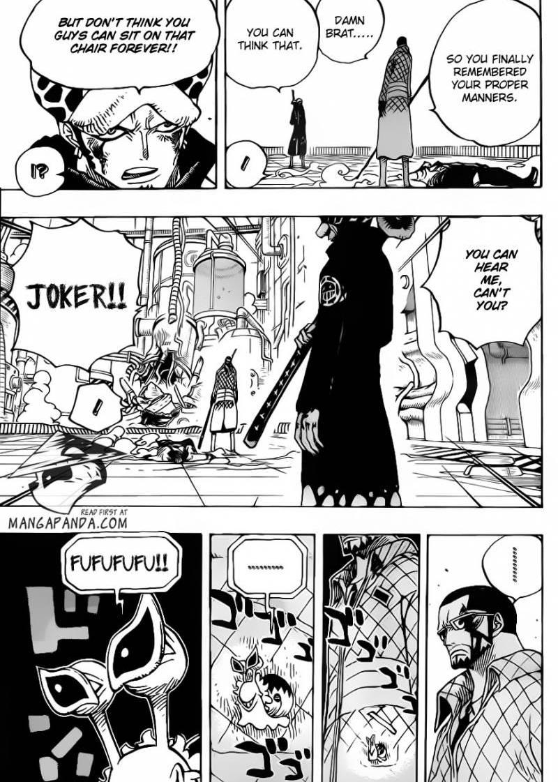 One Piece - Chapter 690