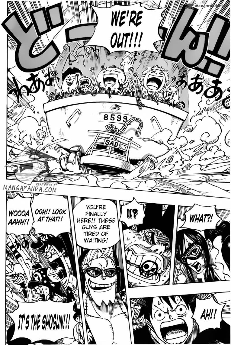 One Piece - Chapter 695