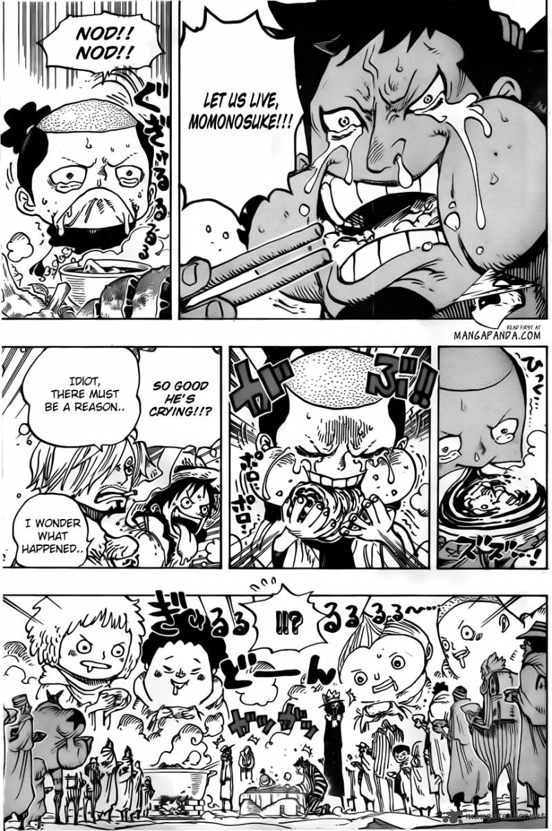 One Piece - Chapter 696