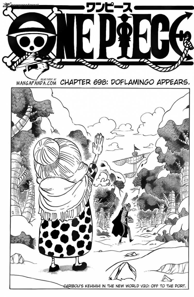 One Piece - Chapter 698