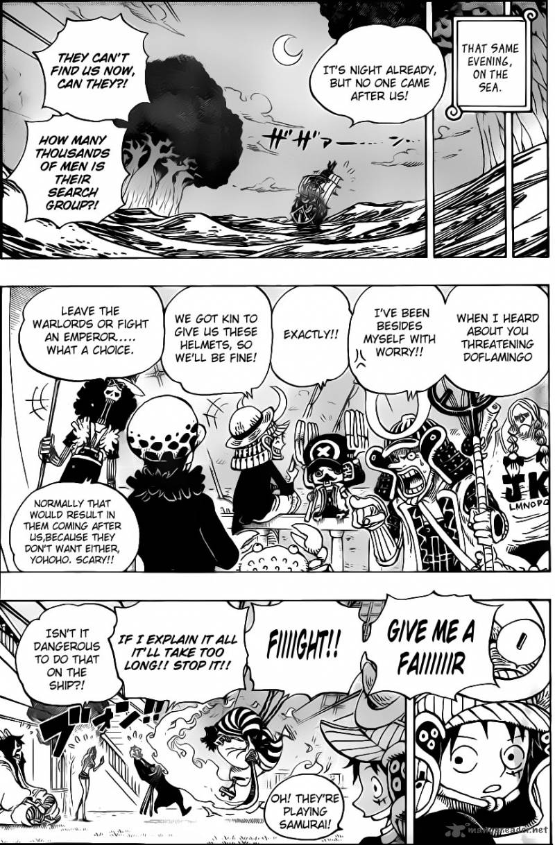 One Piece - Chapter 699