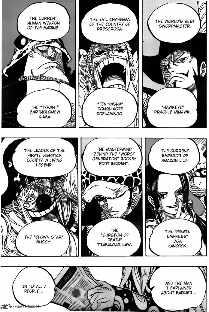 One Piece - Chapter 701