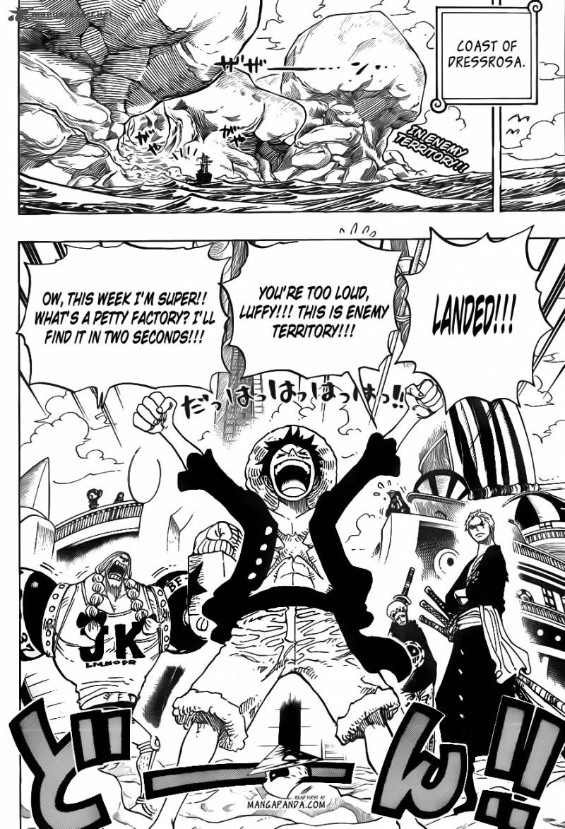 One Piece - Chapter 702