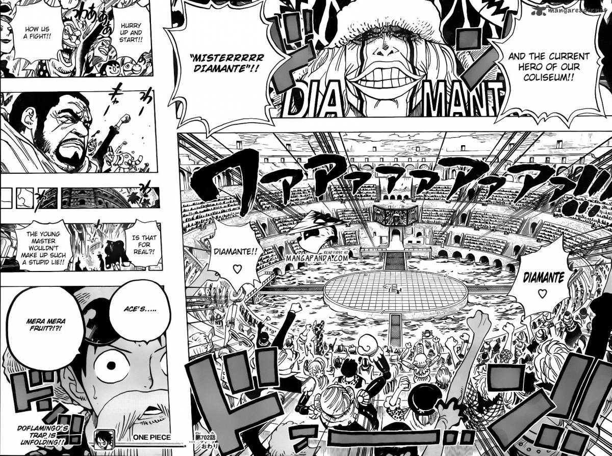 One Piece - Chapter 703