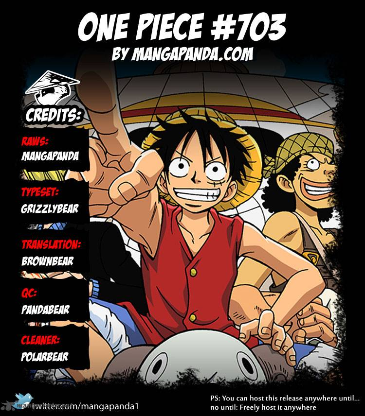One Piece - Chapter 704