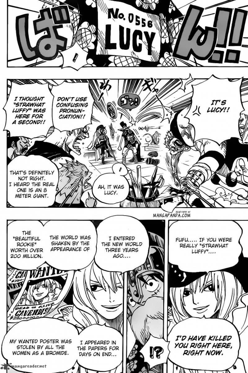 One Piece - Chapter 705