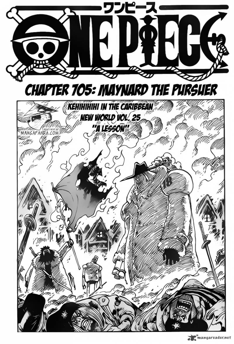 One Piece - Chapter 706