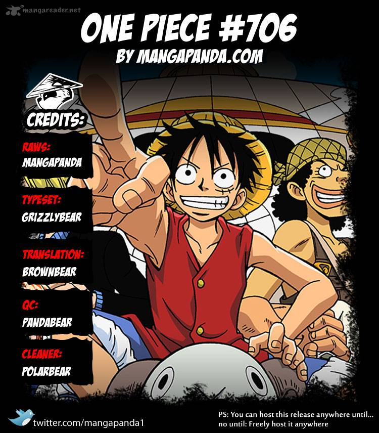 One Piece - Chapter 707