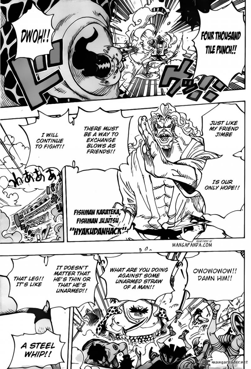 One Piece - Chapter 708