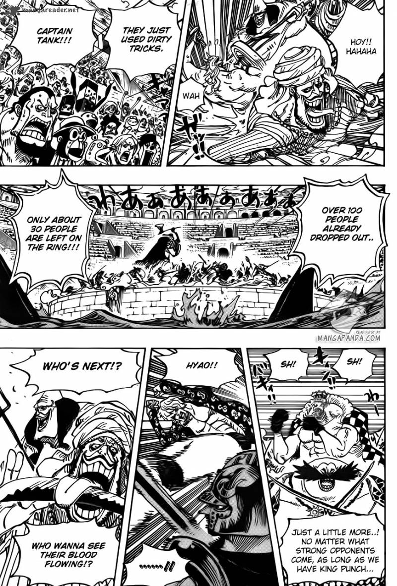 One Piece - Chapter 709