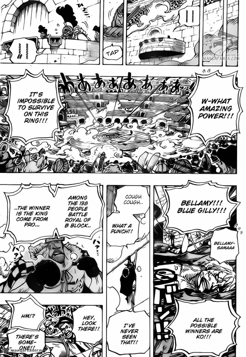 One Piece - Chapter 710