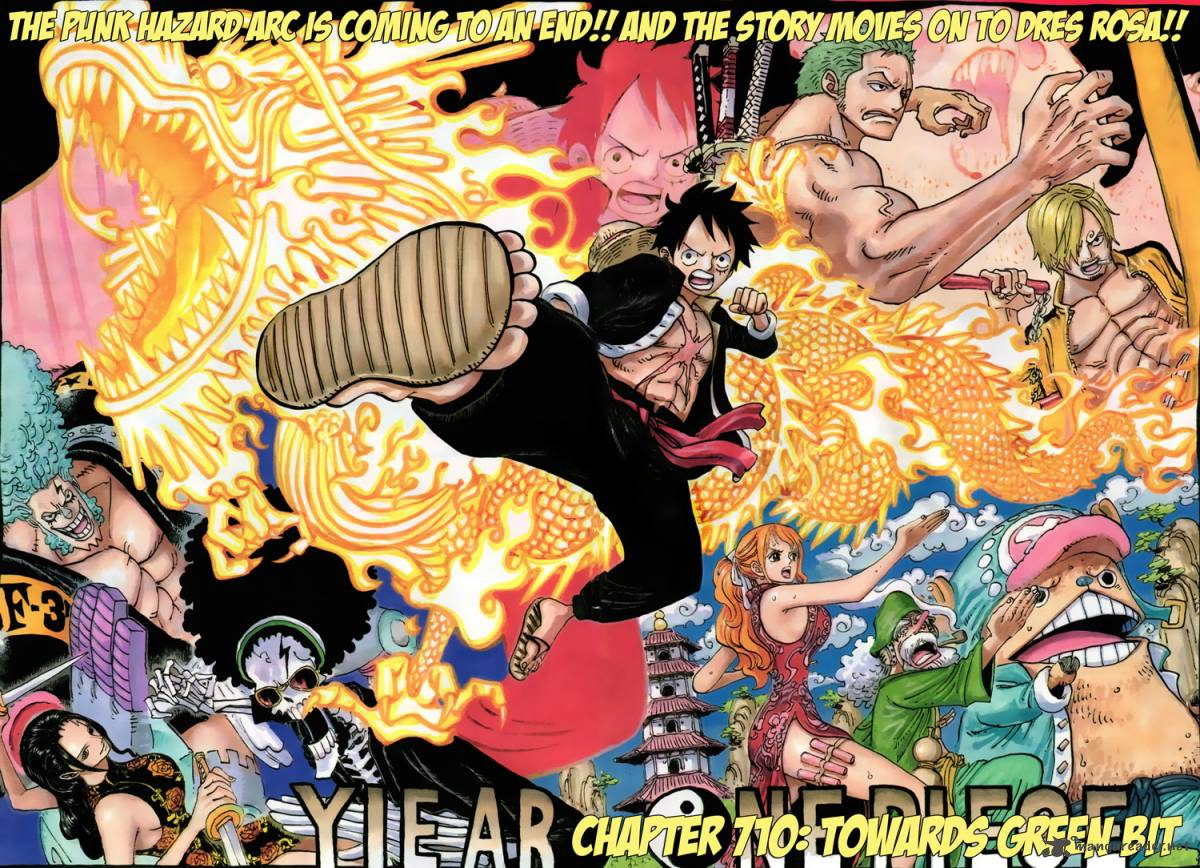 One Piece - Chapter 711
