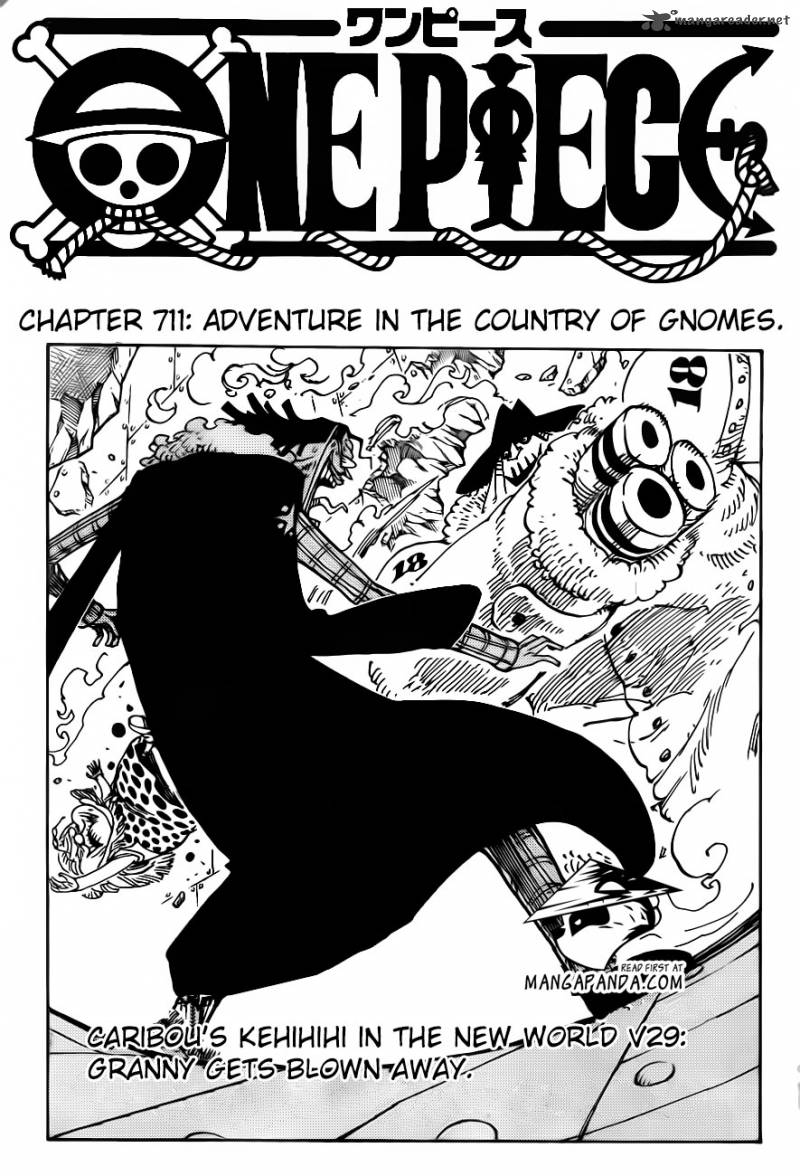 One Piece - Chapter 712