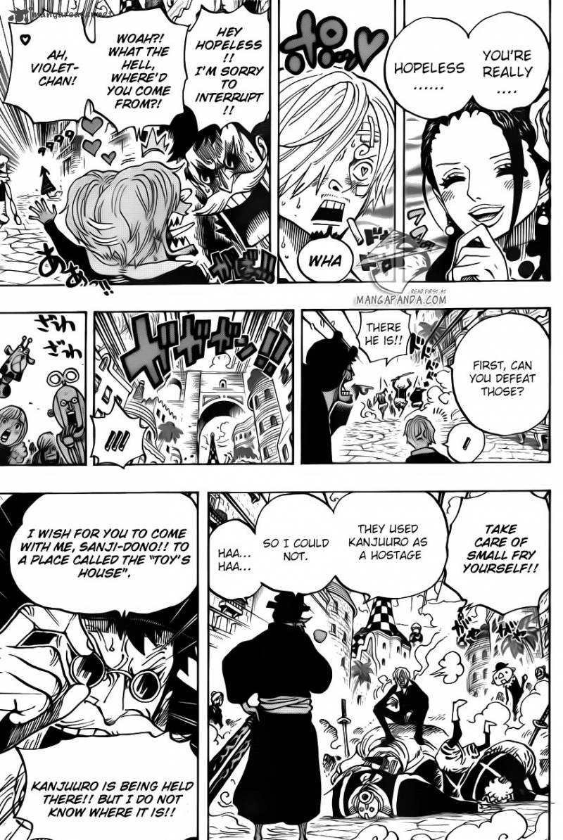 One Piece - Chapter 714