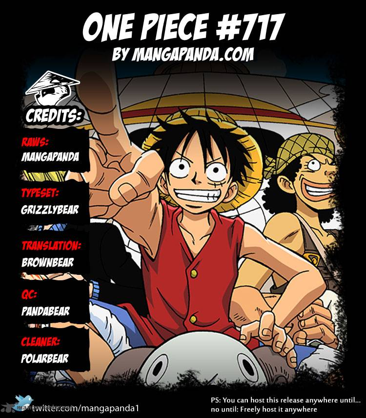 One Piece - Chapter 719