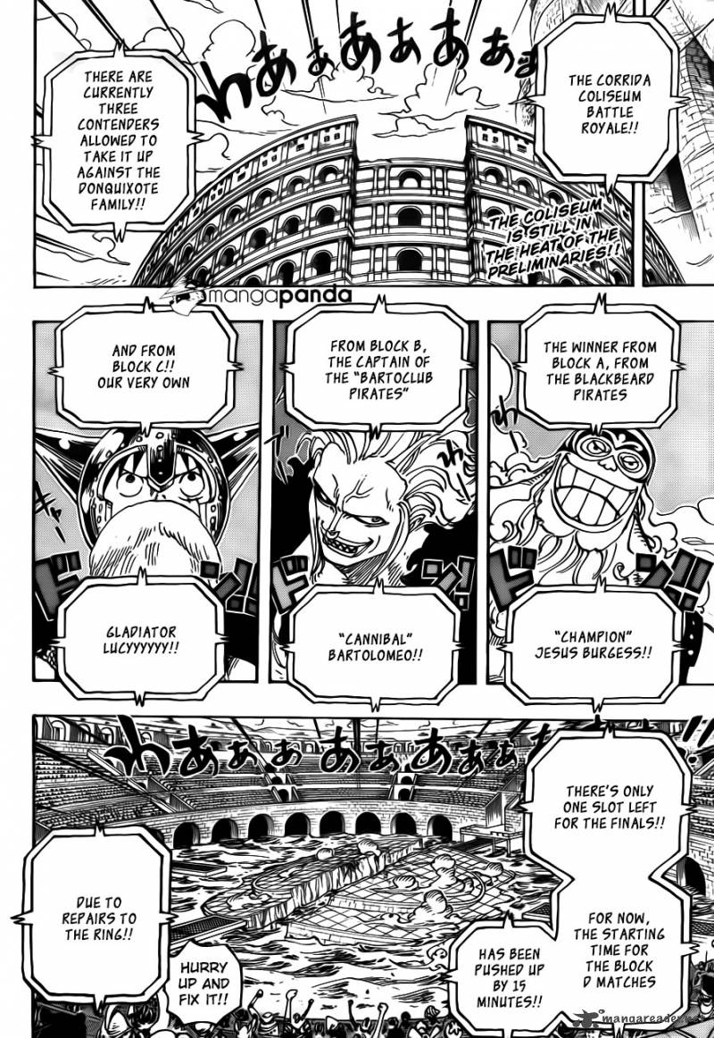One Piece - Chapter 722