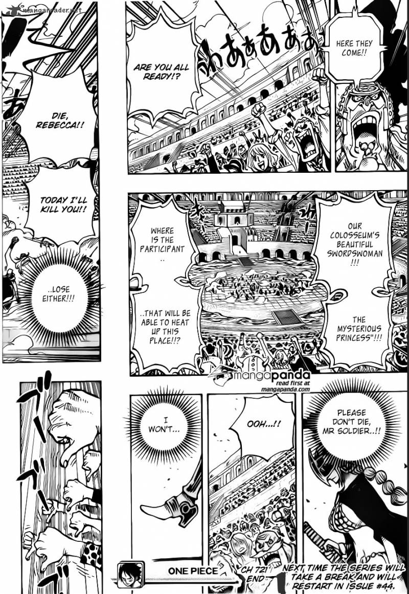 One Piece - Chapter 723