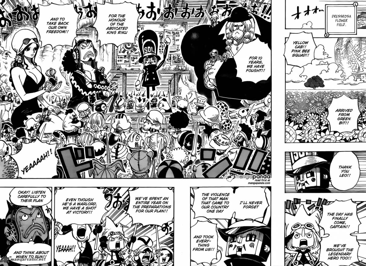 One Piece - Chapter 724