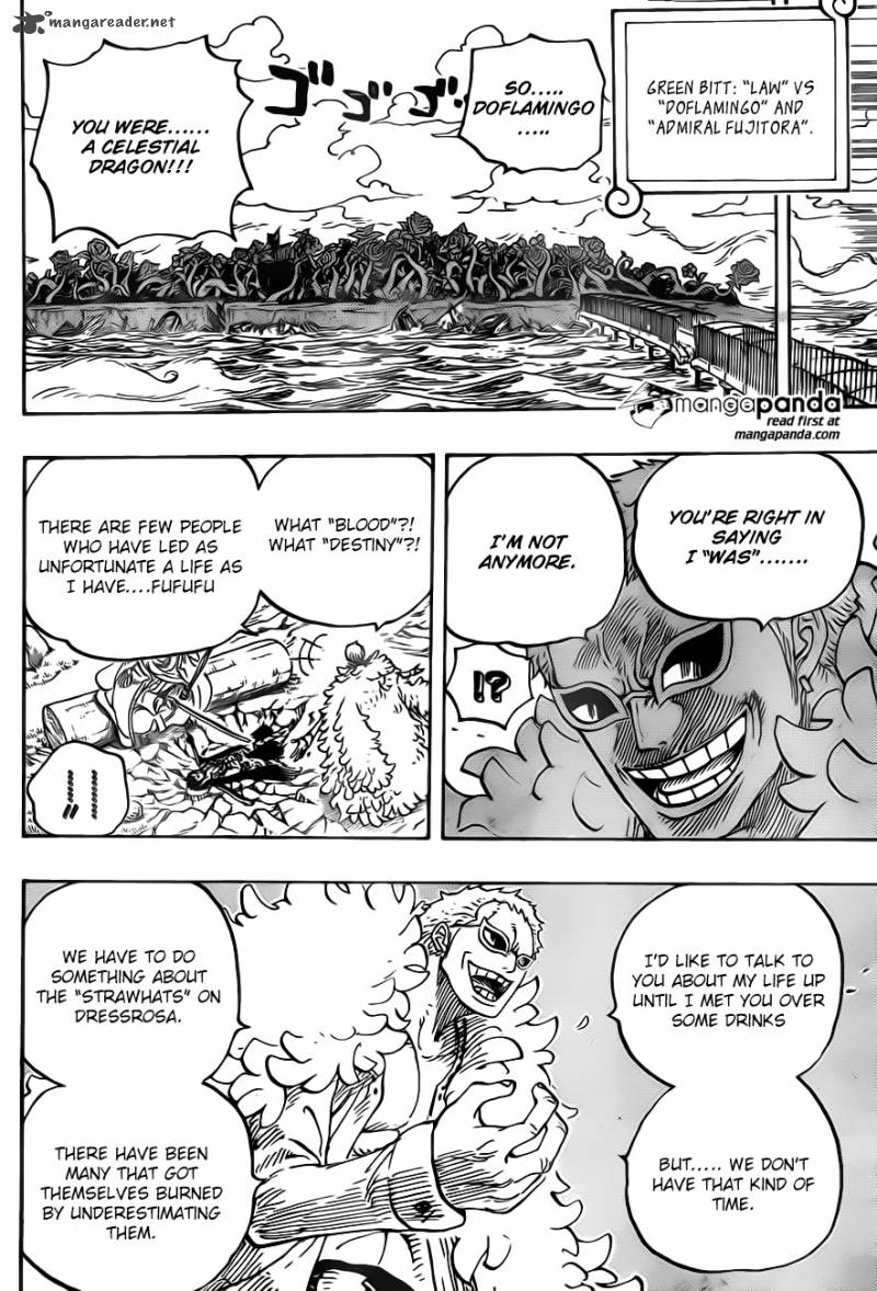 One Piece - Chapter 725