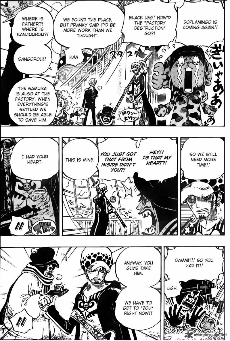 One Piece - Chapter 726